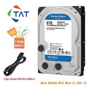 Ổ Cứng HDD WD Blue 6TB 3.5 inch SATA3 6Gb s Chính Hãng - Mới Bảo hành 24 tháng thumbnail