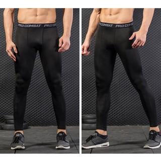 [ HÀNG ĐẸP ] Quần legging giữ nhiệt nam - co giãn k giới hạn - kết hợp tập gym - chơi thể thao ngày đông - PRO COMBAT thumbnail