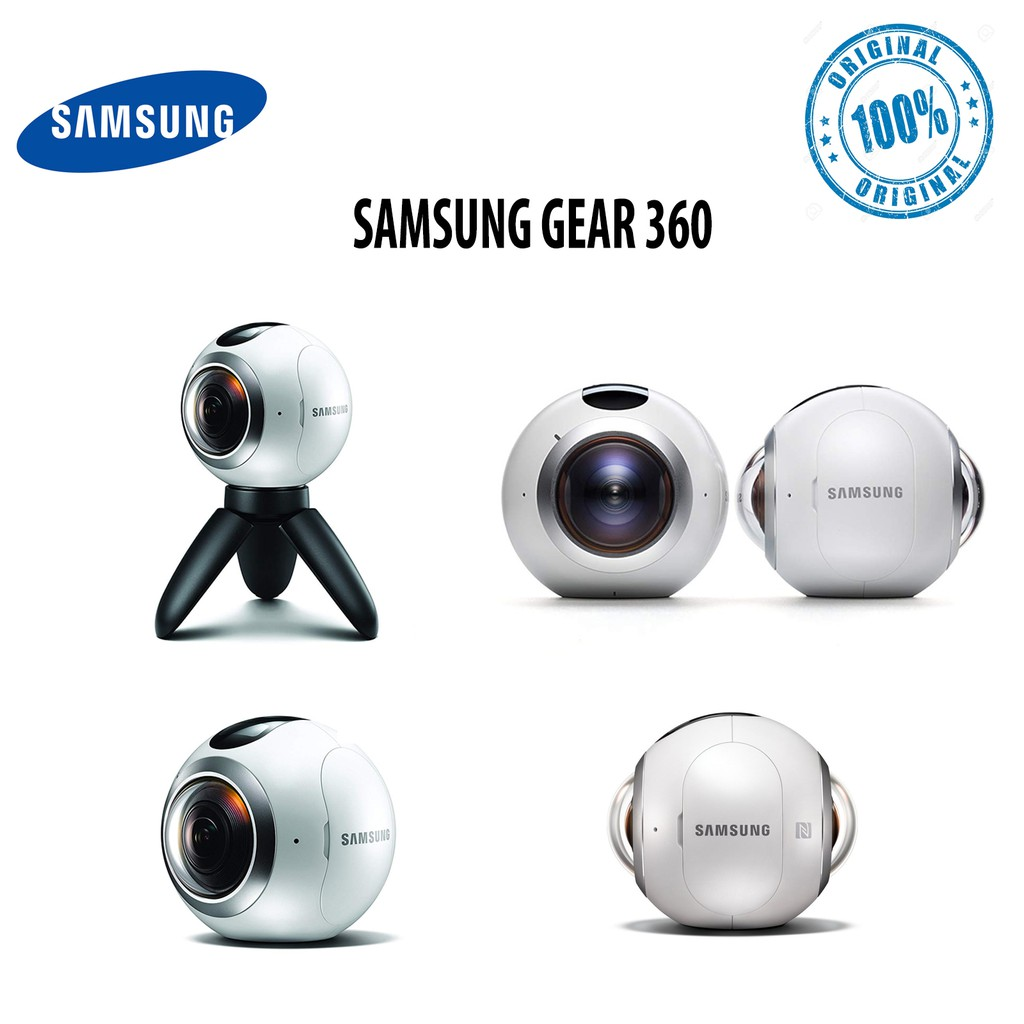 Máy Quay Phim Samsung Gear 360 2016