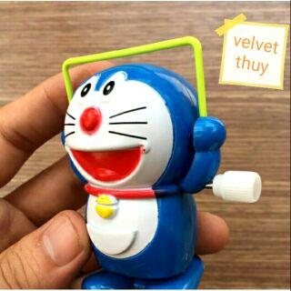 Đồ chơi mini – Doraemon nhảy dây vặn cót
