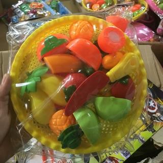 Bộ cắt hoa quả nhựa