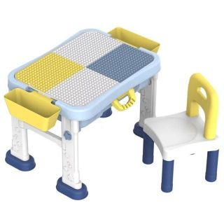 Bàn Lego đa năng cao cấp (gồm 1 bàn + 1 ghế)