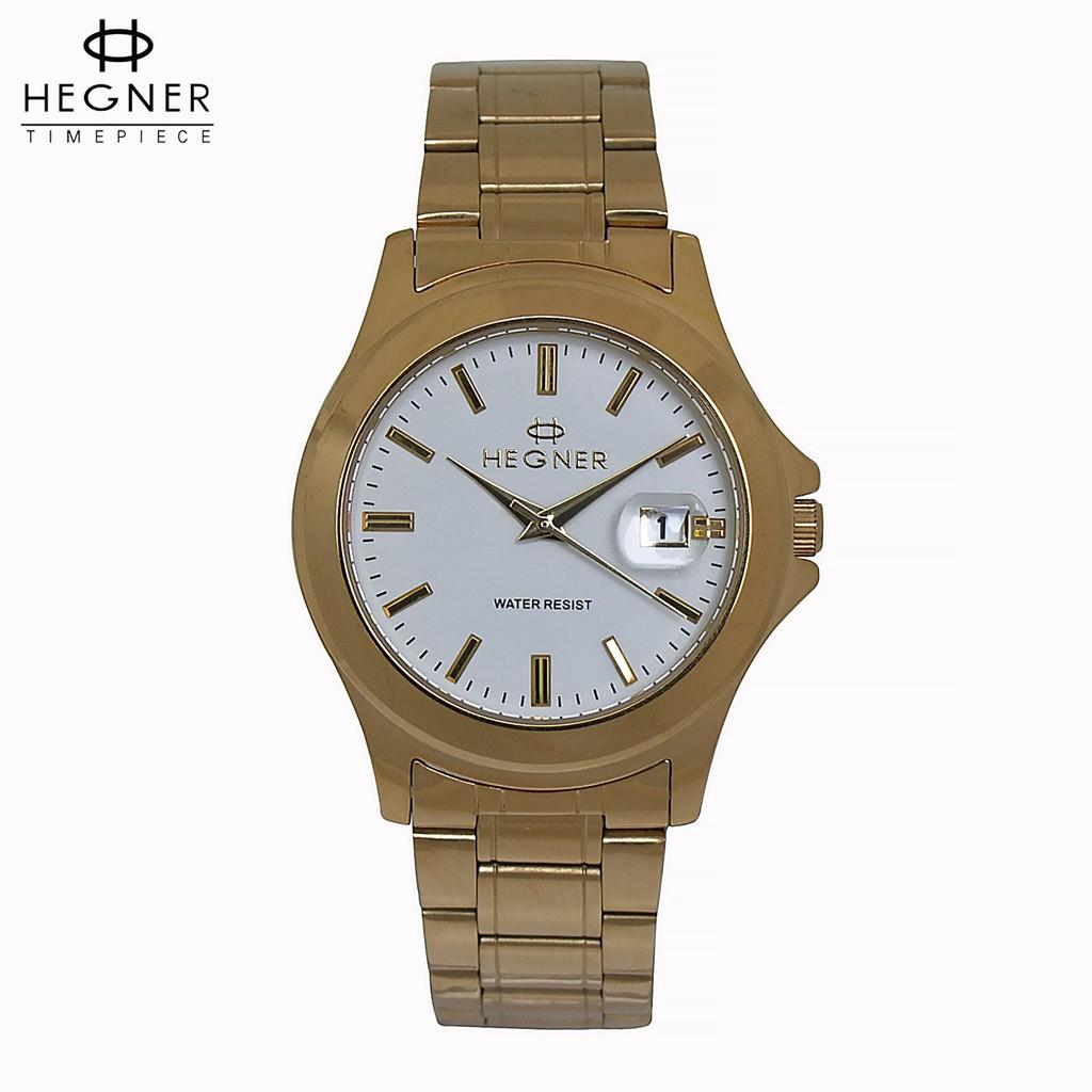 Đồng hồ nam dây thép Hegner HW-223MWBLUE , chính hãng full box , kính Sapphire chống xước , chống nƀly