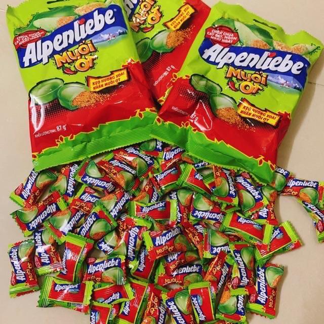 Kẹo xoài non muối ớt Alpenliebe bịch 32viên 87g