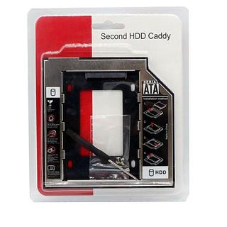 [Siêu rẻ] Caddy Bay SATA 3.0 12.7mm Gắn Thêm Ổ Cứng Cho Laptop