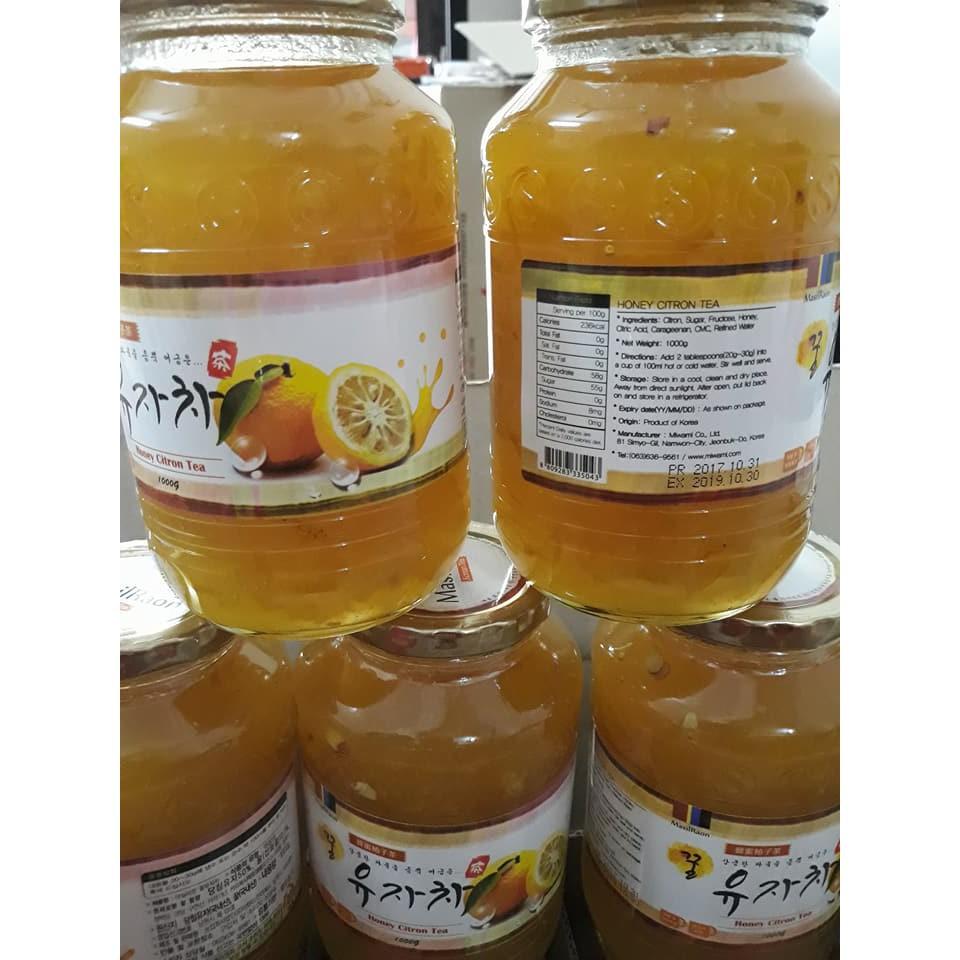 Chanh đào mật ong Hàn Quốc (1kg) - 2916710 , 838861627 , 322_838861627 , 115000 , Chanh-dao-mat-ong-Han-Quoc-1kg-322_838861627 , shopee.vn , Chanh đào mật ong Hàn Quốc (1kg)