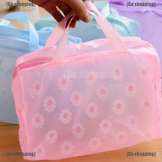 Túi nhựa PVC chống nước đựng đồ trang điểm tiện lợi thumbnail