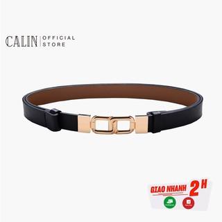 [Mã FASHIONXANH264 giảm 10K đơn 50K] Thắt lưng nữ Calin dùng làm đai váy hoặc đai áo, dây lưng nữ chất liệu da