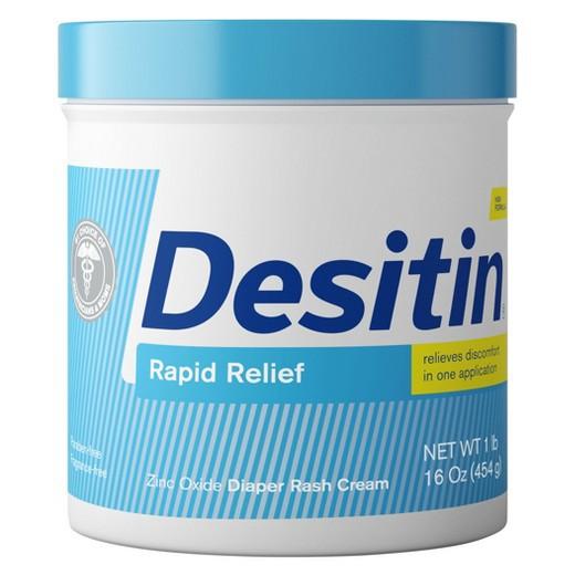 Kem chống hăm tả cho bé Desitin Rapid Relief Cream 454g từ Mỹ