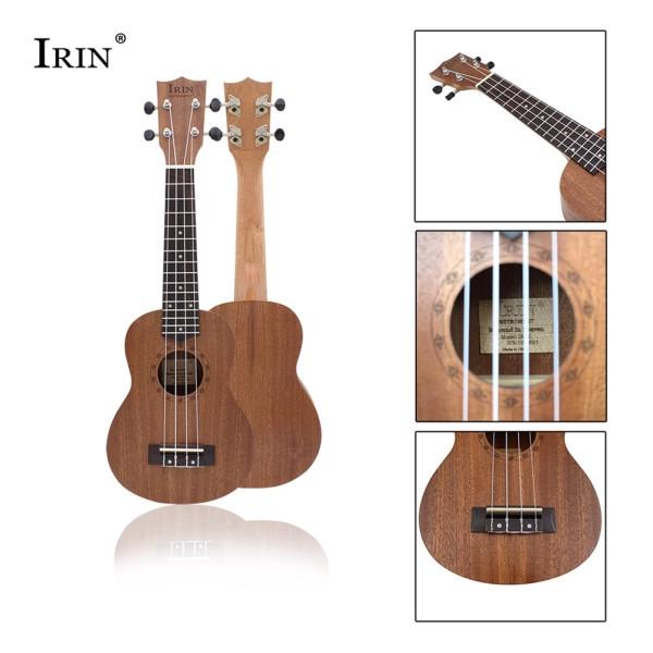 21Inch Sapele Ukulele Engraved Ukelele 15 Frets Acoustic Guitar Mini Portable Professional Musical