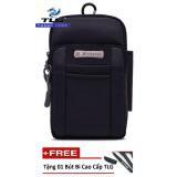 Túi đeo hông chống nước đa năng Thành Long TLG 208192 2(đen) tặng 01 bút bi cao cấp TLG
