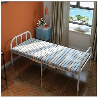 Giường xếp gọn khung thép sẵn đệm 185x75x40