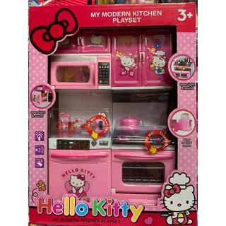 Đồ chơi thiết bị nhà bếp Hello Kitty No.8921 có âm thanh