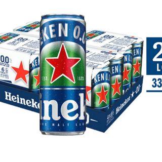 Bia Heineken O.O không độ cồn . Lốc 24 lon
