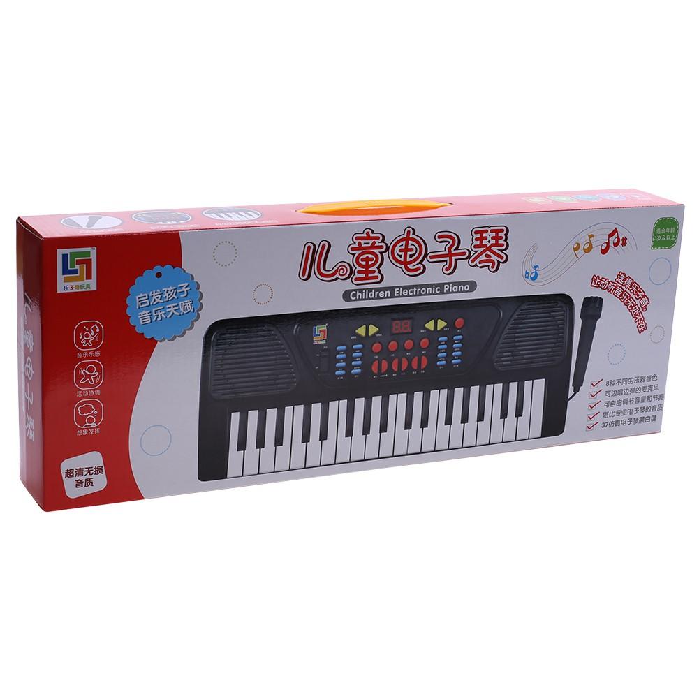 Kids Childrens 37 Key FM Radio Electronic Keyboard Piano Musical Toy Mic