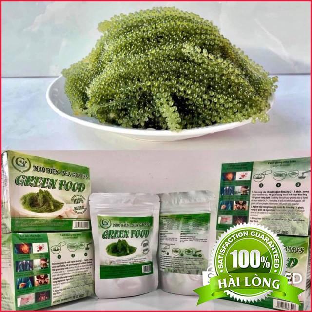 Rong Nho Tách Nước Green Food 100% Natural Hàng Công Ty Check Thông Tin Qua Mã Vạch