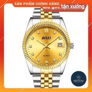 Đồng Hồ Nam Chính Hãng BOSCK 3308 VÀNG, ĐEN thumbnail