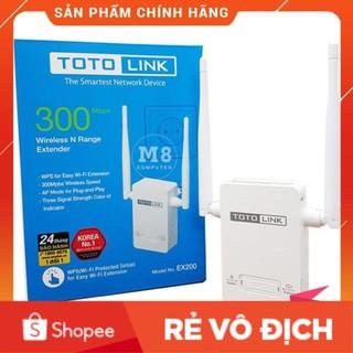 [Chính Hãng] Bộ tiếp sóng Totolink EX200 Chuẩn N Tốc Độ 300Mbps chính hãng cao cấp thumbnail