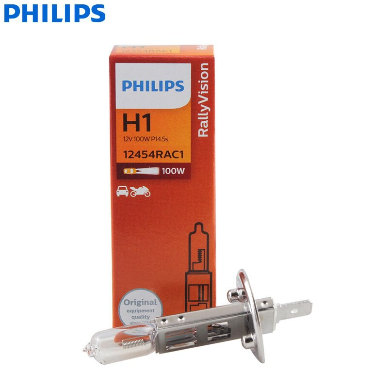 Bóng Đèn Pha Chân H4 H11 Philips 12V 100W Bóng Halogen Dùng Cho Xe Ô Tô