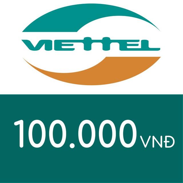 Nạp điện thoại Viettel 100K