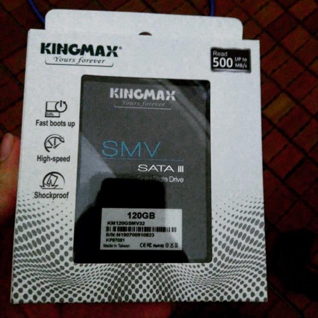 Ổ ssd KINGMAX 2.5 120GB Giá chỉ 500.000₫