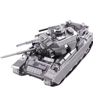 Mô hình lắp ráp kim loại - Xe tăng Centurion AFV Piececool P058-S