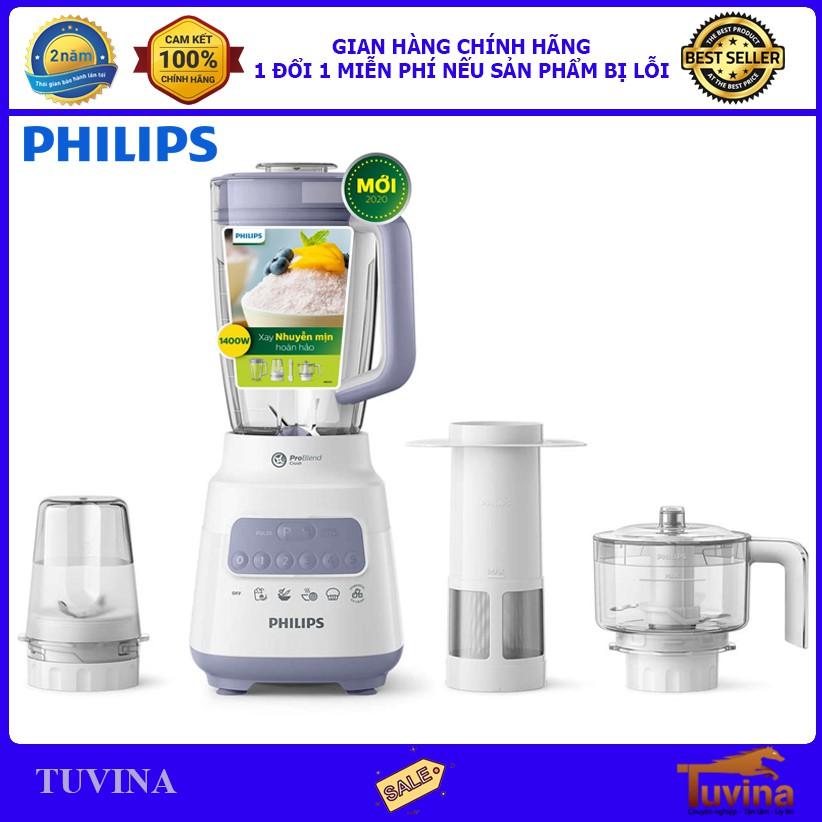 Máy Xay Sinh Tố Philips HR2223 - Hàng Chính Hãng (Bảo Hành 24 Tháng)