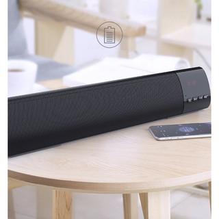 Loa Soundbar Bluetooth 5.0 1200mAh DSPBlack cao cấp