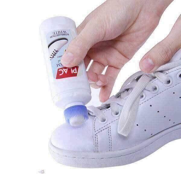 Chai xịt tẩy trắng giày dép túi xách Plac - đầu bàn chải mã sp FG3810