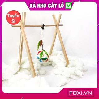 [SALE SẬP SÀN] Kệ treo đồ chơi trẻ em-Tăng cường vận động-Tạo sự thích thú-Phát triển não bộ-Sức chịu nặng tốt