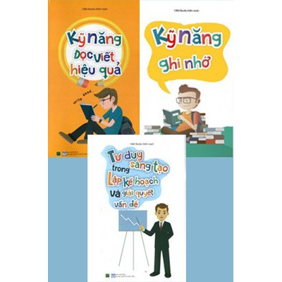 Sách - Combo Tủ Sách Kỹ Năng Học Tập (3 Cuốn)