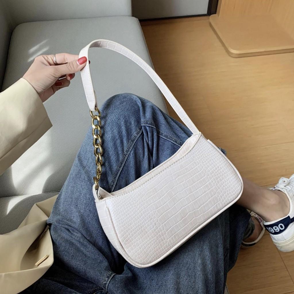 Túi kẹp nách đeo chéo MIZZA đi chơi phong cách Hàn Quốc DC136