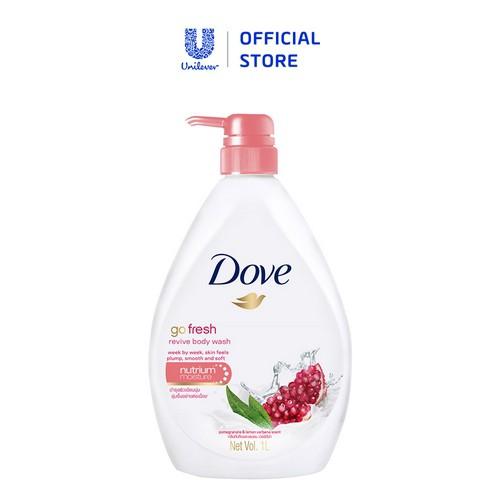 Sữa tắm dưỡng ẩm Dove Hương Lựu và Chanh 550ml