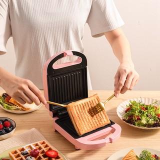 Máy làm bánh mì sandwich tiện dụng, Máy Nướng Bánh Mì Kẹp Bữa Sáng, Máy Làm Bánh Mì Nướng Bánh Mì Mini Hai Mặt