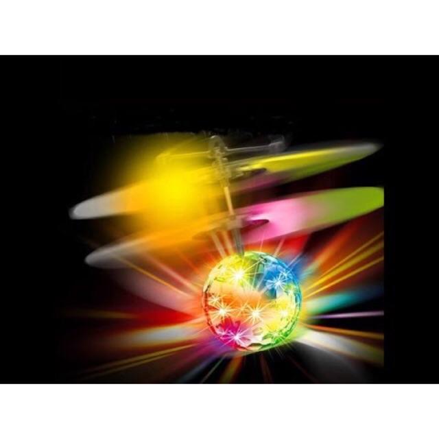 [SALE 10%] Quả cầu pha lê biết bay, bóng sàn nhảy biết bay có đèn led chớp đủ màu