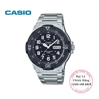 Đồng hồ nam Casio MRW-200HD-1BVDF dây kim loại