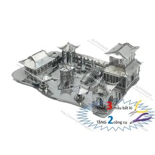Mô Hình Lắp Ráp 3d Tô Châu Lâm Viên