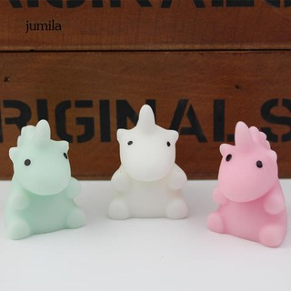 JL_Cute Unicorn Shape Slow Rising Kids Toy Stress Relieve Gift