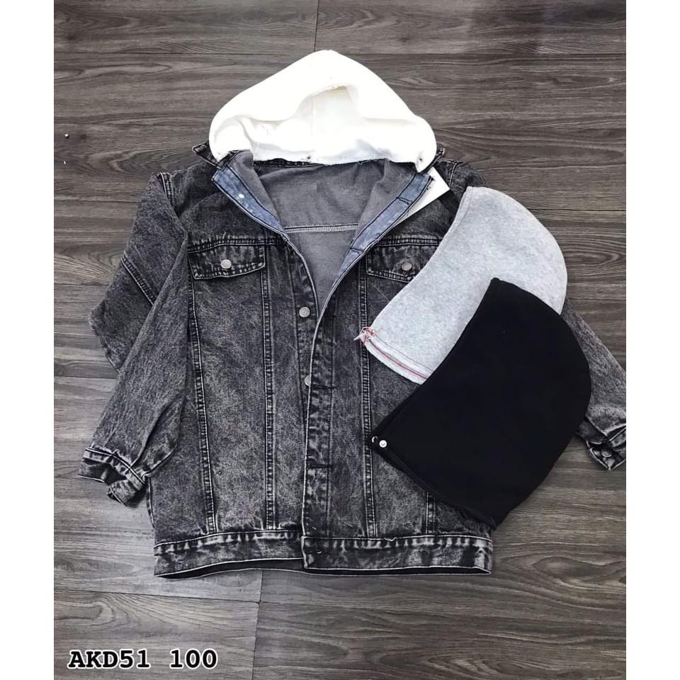 Bigsize 60-85kg. Áo khoác jeans là item không thể thiếu trong tủ đồ của những cô nàng. Bigsize dưới 85-. Mã akd51