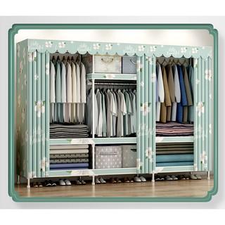 tủ vải khung thép titan Tủ vải Metal 2,3 buồng kích thước đa dạng