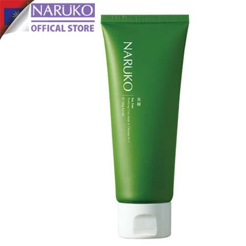 Sữa rửa mặt dạng bùn Naruko trà tràm Tea Tree Purifying Clay Mask and Cleanser in 1 120 gr