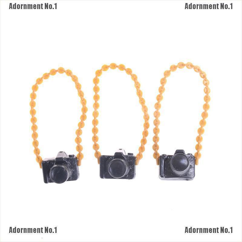 Mini Doll Accessories Plastic Camera For DIY BJD Doll Monster Doll Toys Gift - Hàng nhập khẩu