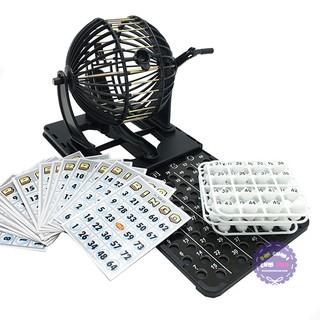 (Đồ chơi giải trí) Hộp đồ chơi lồng quay lô tô 75 số Bingo Neo