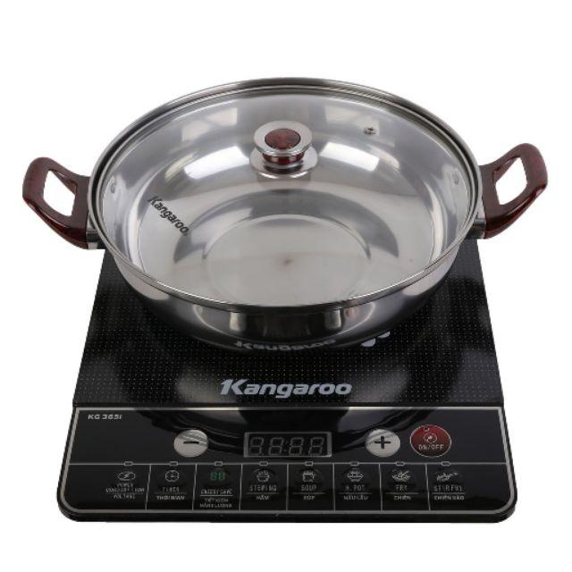 Bộ Bếp điện từ Kangaroo Model KG 365i và nồi