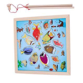 Bảng gỗ câu cá đại dương
