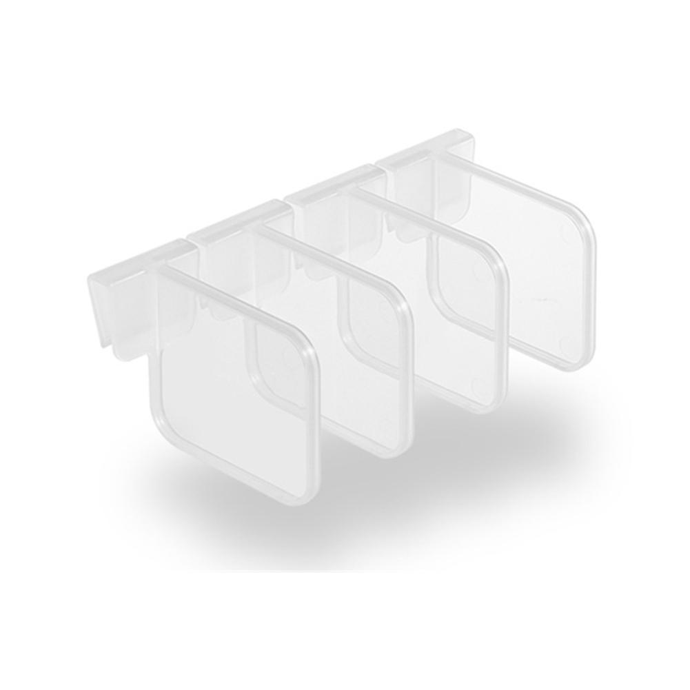 Bộ 4 Khay Nhựa Đựng Thực Phẩm Q9C7 Cho Tủ Lạnh