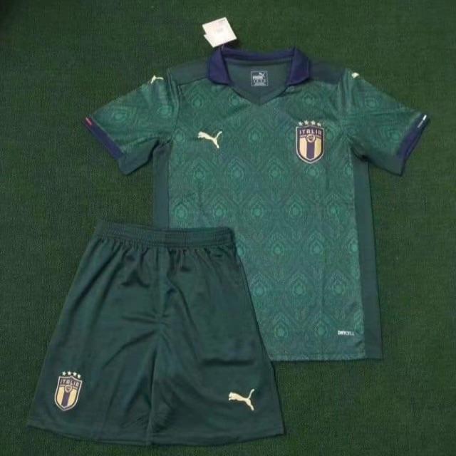 Quần áo bóng đá tuyển Italia Ý Euro 2020 hàng cao cấp Thái Lan.