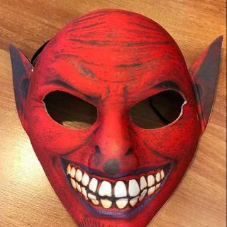 Mặt nạ hoá trang quỷ đỏ [haloween]