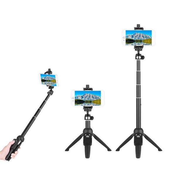 YunTeng YT-9928 Multifunction Selfie Stick Tripod with Bluetooth Remote Shutter