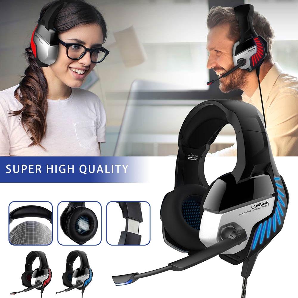 ONIKUMA K5 Pro Stereo Gaming Headset Over-ear Headphones